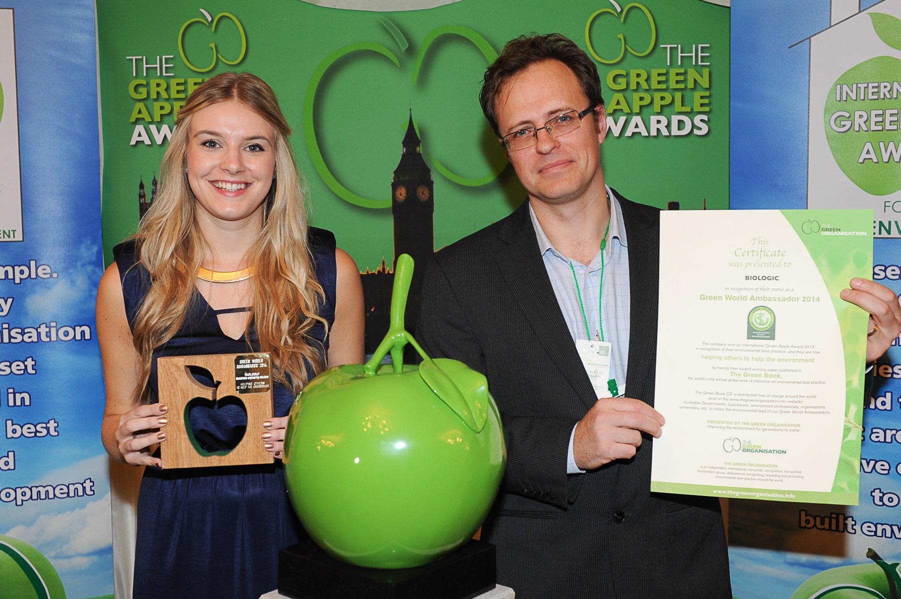 Green World Ambassador 2014